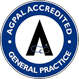 AGPAL Accredited General Practice Badge